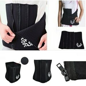 Zippered Neoprene Sauna Belt